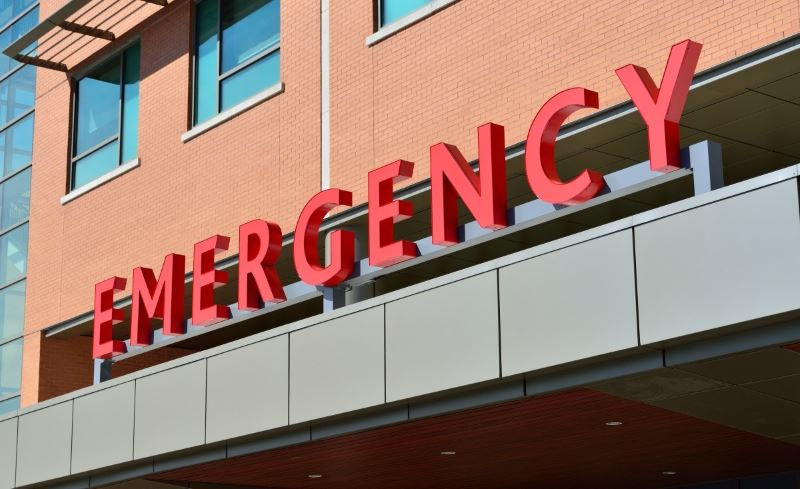 emergency room for chest pain