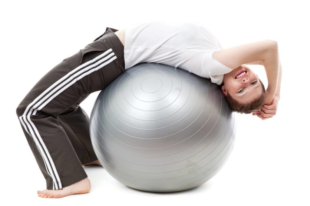 stability ball for costochondritis